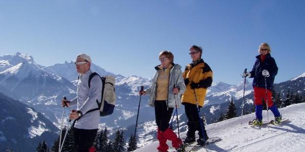 Schneeschuhwandern am Kristberg