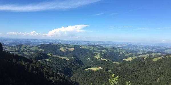 Blick von der Stächelegg Richtung Menzberg