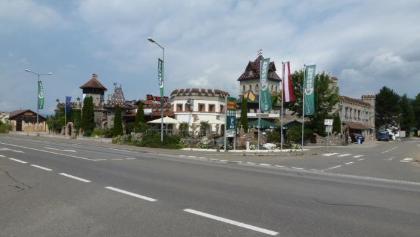 Discotheek und Motel