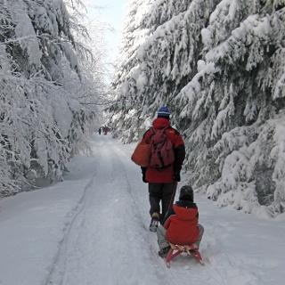 Wintertraum im Sehmatal