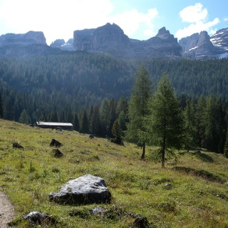 Passo Grostè - Rif. Graffer - sentiero della Corna Rossa – Vallesinella