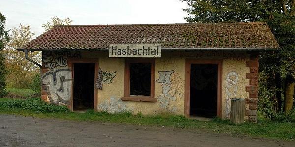 Wartehäuschen Hasbachtal