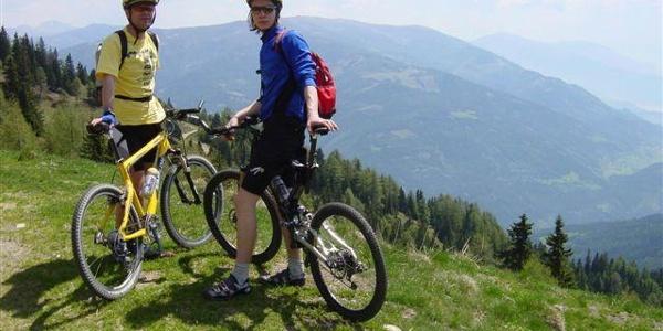 Mountainbiketour Sonnalm Stubeck
