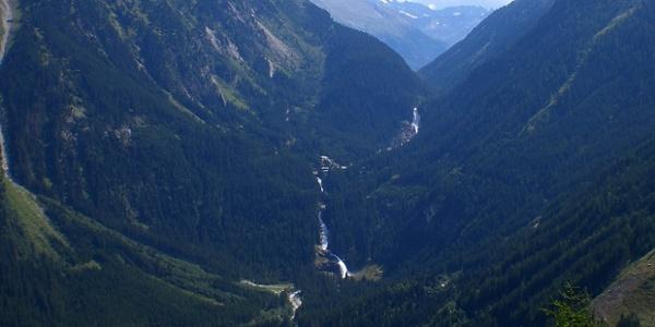 Die 3 Wasserfälle und das Krimmler Achental