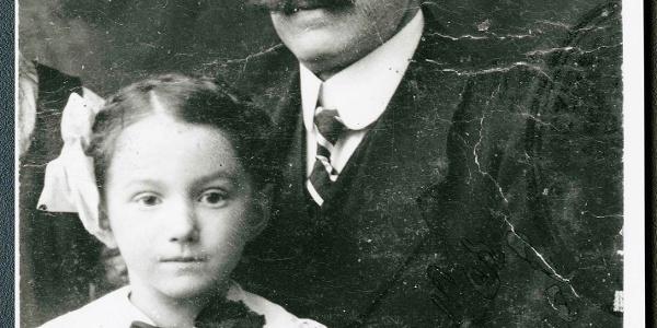 Samuel Spindler mit seiner Tochter Emilie