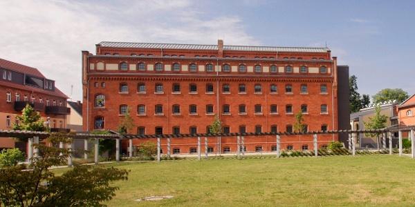 Das ehemalige Gefängnis von Luckau