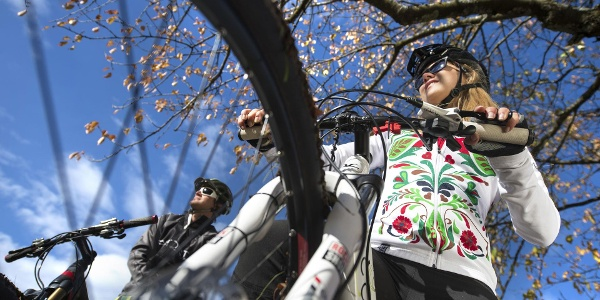 Tour in mtb in autunno