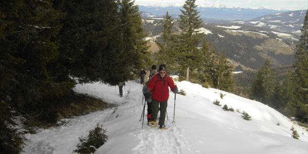 Klippitztörl Aufstieg Weitenbacherweg