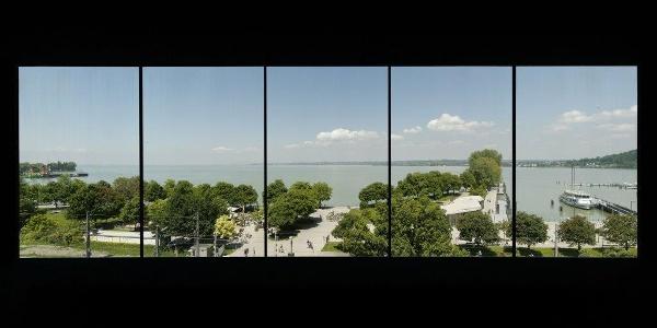 Ausblick aus dem Panoramaraum