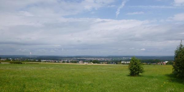 Blick in Richtung des Rheintals