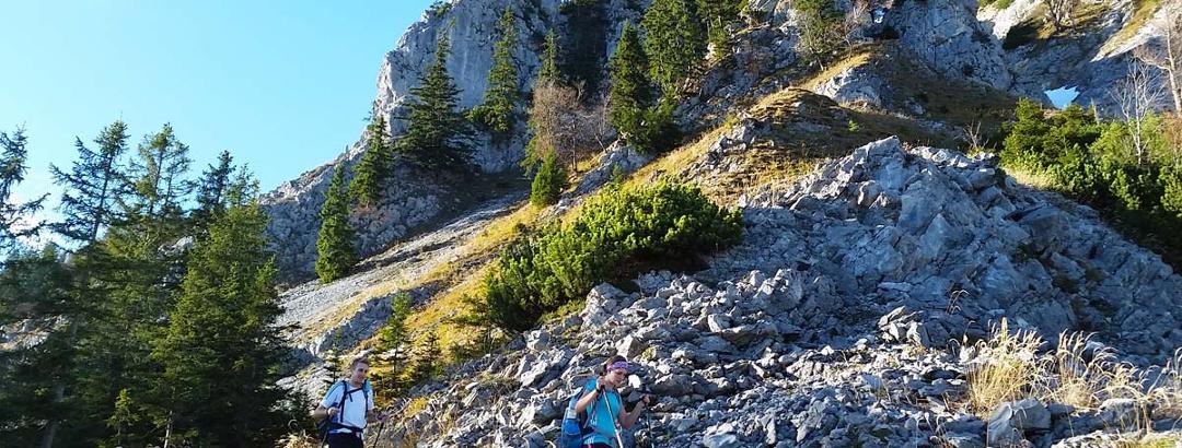 Bergtour auf den Hochstaufen
