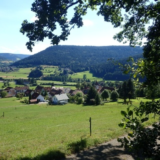 Blick nach Heselbach