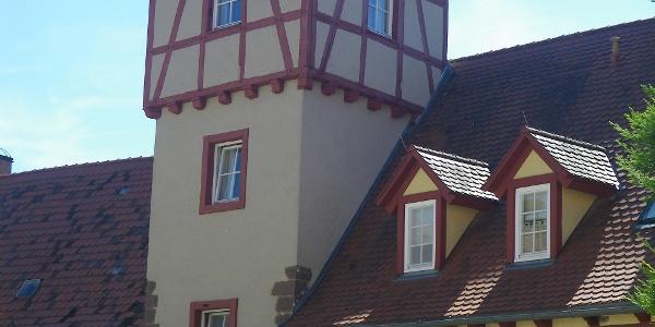 Schloss und Turm