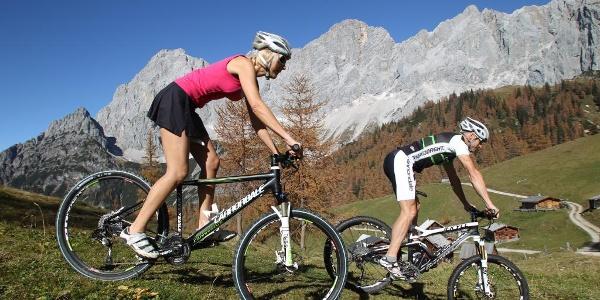 Mountainbike Tour im Ramsauer Almengebiet