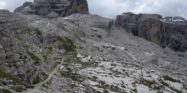 Traversata Passo Grostè - Rif. Tuckett – Rif. Brentei – Vallesinella