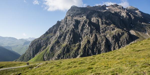Madrisa mountain