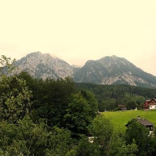 Sarstein bei der Auffahrt zum Pass um 800m