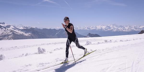 Skilanglauf in Villars
