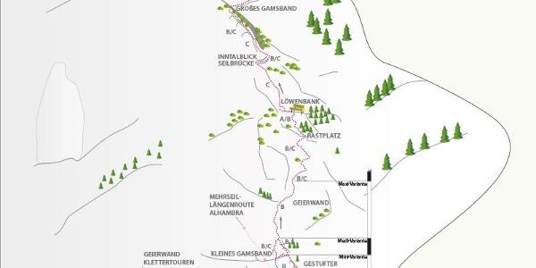 Klettersteig Haiming-Geierwand