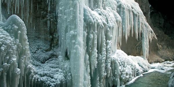 Die Klamm im Winter