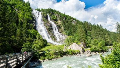 The famous Nardis waterfalls in Val Genova