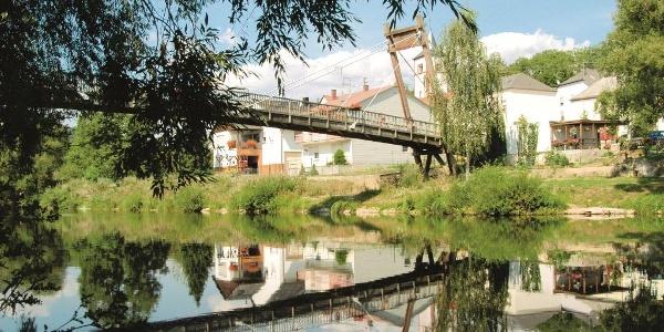 Sauer-Radweg_Aussicht auf die Brücke in Metzdorf