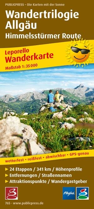 Wandertrilogie Allgäu – Himmelsstürmer Route