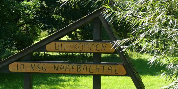 Begrüssung im Naafbachtal