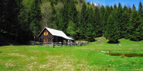 Alpenrosehütte des ÖTK (Ostseite)