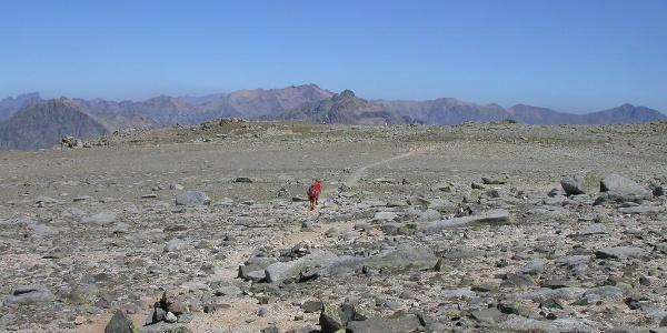 Das Hochplateau des Monte Rinosu