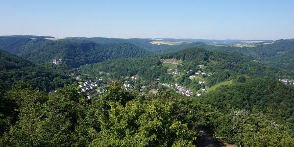 Aussicht vom Goethepunkt