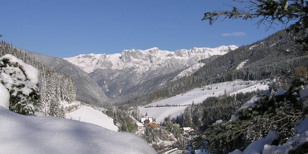 St. Ilgner Tal mit Hochschwabmassiv