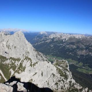 Sappada vista dalla cima