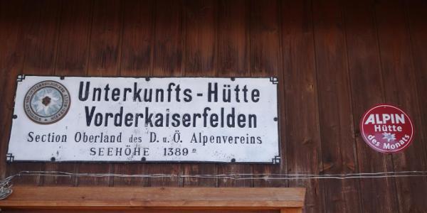 Voderkaiserfelden-Hütte
