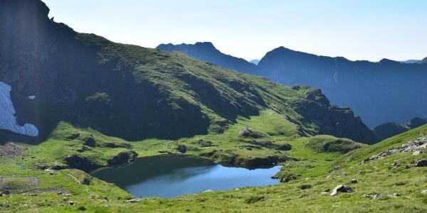 Bergsee in den Muntii Fagarasan