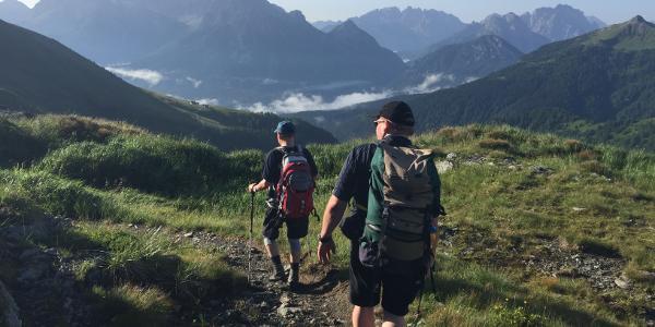 Wanderung zum Weissteinhaus
