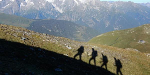 Aufstieg zum Mont Rogneux
