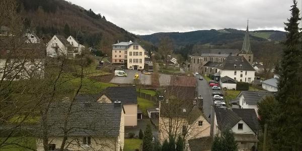 Ein Blick über Waldbreitbach