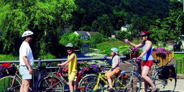 Kyll-Radweg_Familientour auf dem Flussradweg