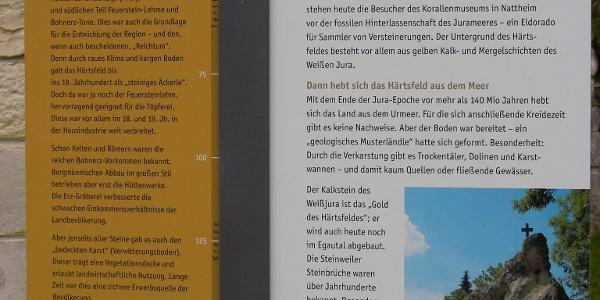 Thementafel Geologisches Musterländle.