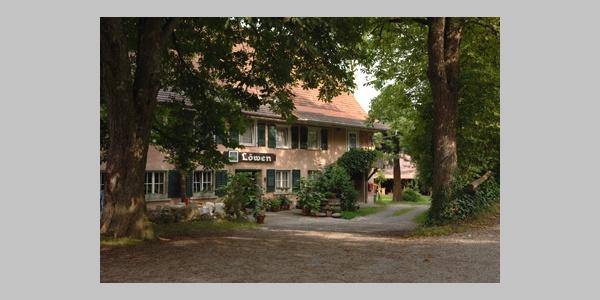 Aussenansicht Gasthaus Löwen