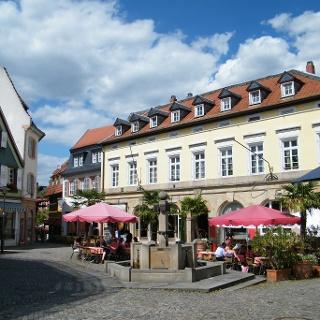 Der Römerplatz in Bad Dürkheim.