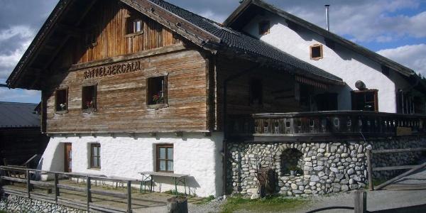 Sattelbergalm in Gries am Brenner, Wipptal