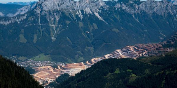 Der Pfaffenstein bewacht Eisenerz und den Erzberg