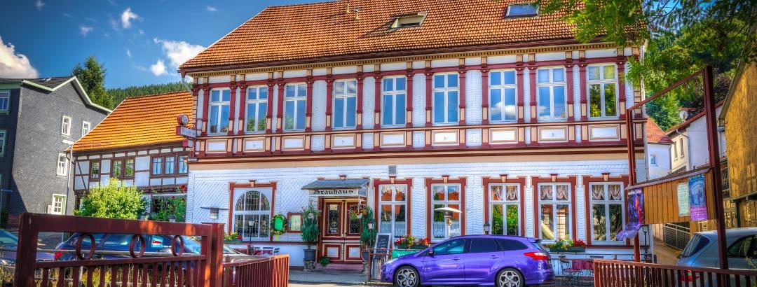 Blick vom Biergarten - Brauhaus Friedrichroda