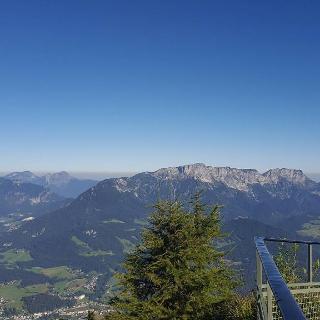 Untersberg vom Kehlstein-Haus gesehen