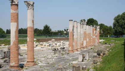 Archäologische Stätte Aquileias