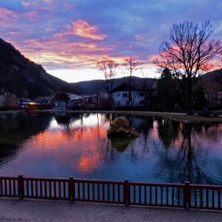 Der hübsche Teich in Puchberg