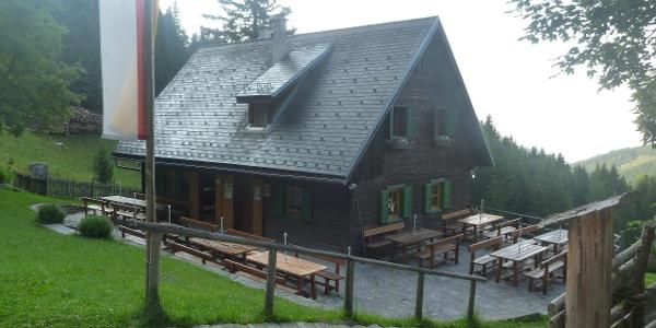 Saualpe - Kleinhinterberger Hütte
