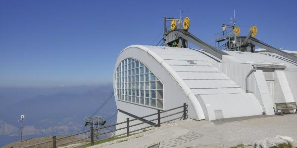 Bergstation der Malcisine-Monte Baldo-Bahn